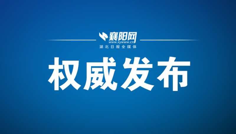 襄阳市新型冠状病毒肺炎疫情通报(128)